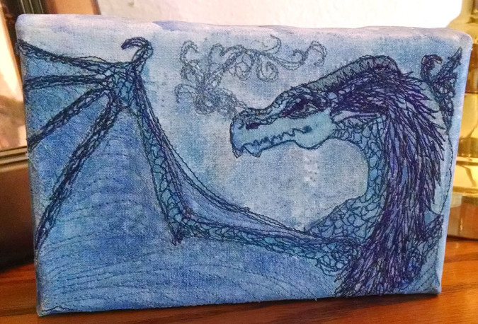 A-Dragon-paintedembroidery-rebeccajgreenwood-canvas