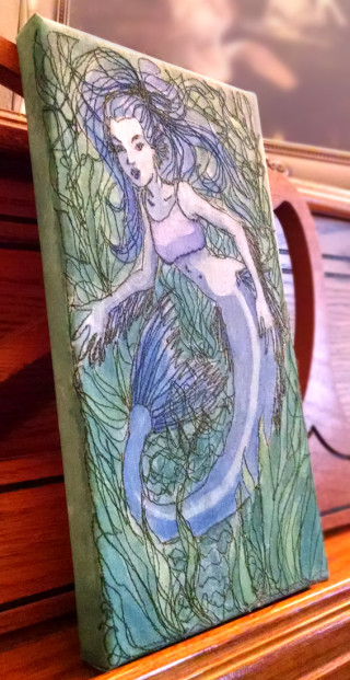 Blue-Mermaid-in-the-Kelp-paintedembroidery-rebeccajgreenwood-side