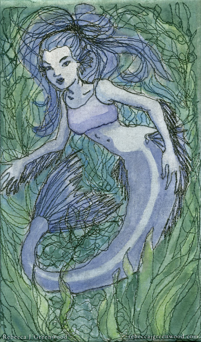 Blue_Mermaid_paintedembroidery_rebeccajgreenwood