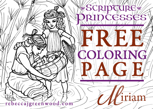 scripture-princesses_Free_coloring_page_Miriam_graphic