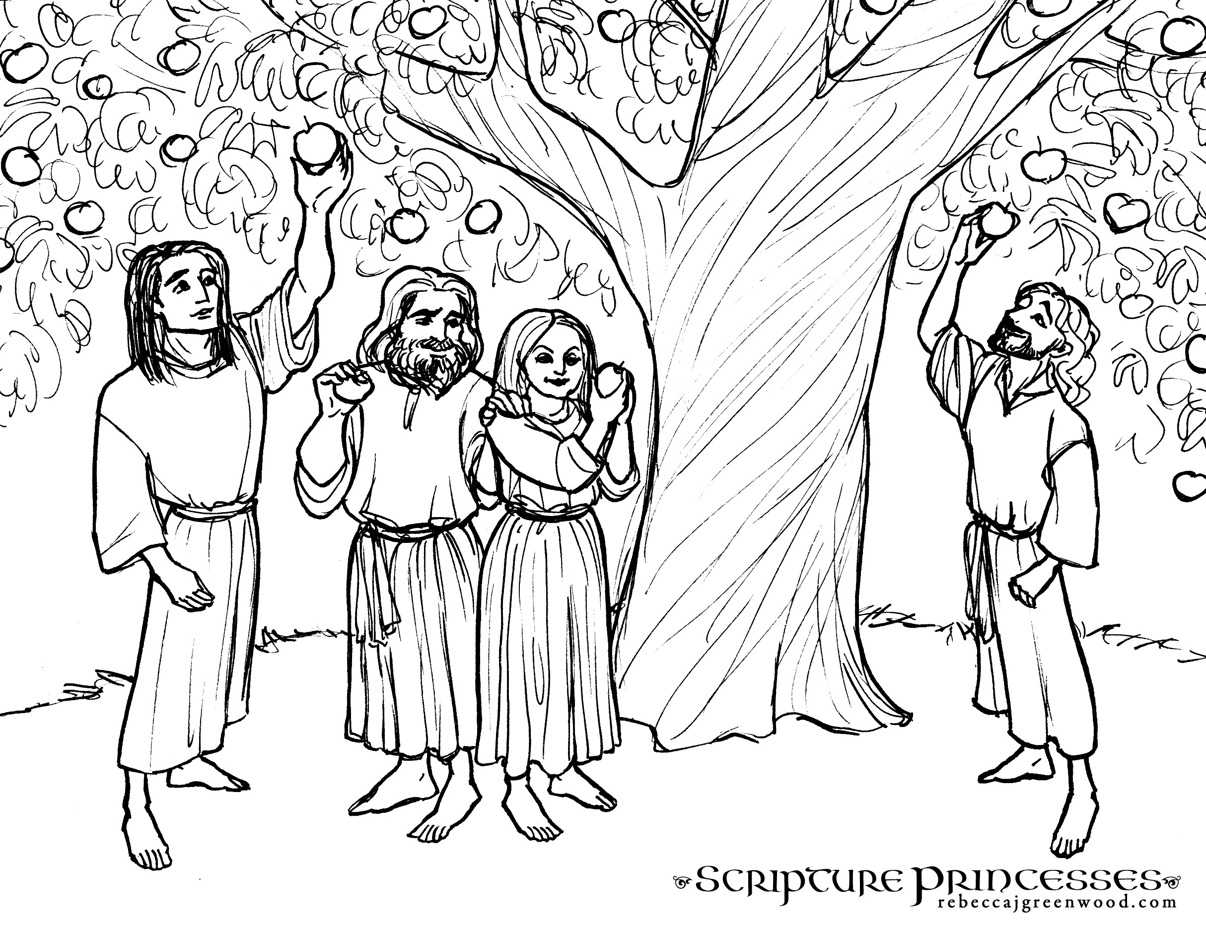 Tree Of Life Coloring Pages Free Coloring Page Sariah  Rebecca Jgreenwood
