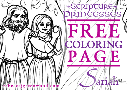 scripture-princesses_Free_coloring_page_Sariah_graphic