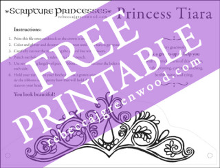 picture relating to The Printable Princess titled Free of charge Printable: Princess Tiara Rebecca J. Greenwood