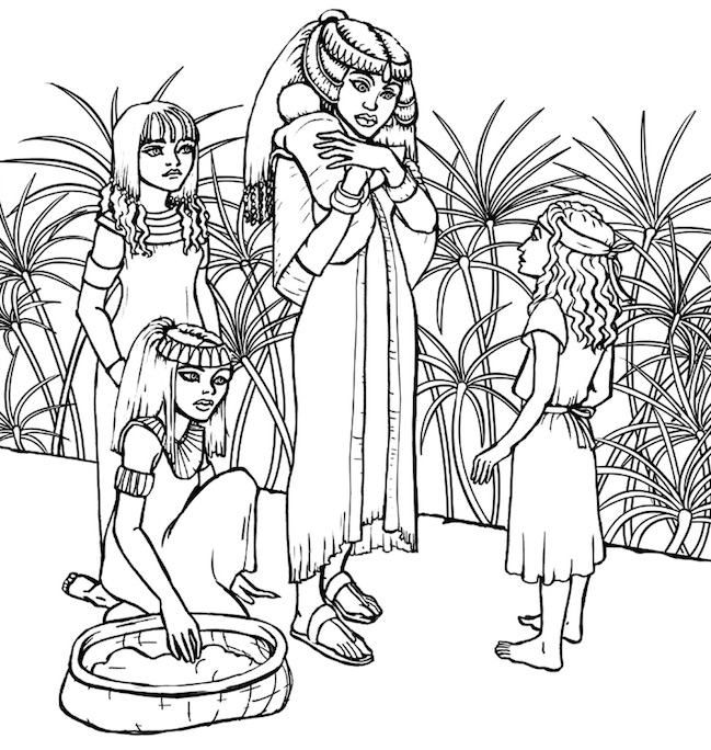 Scripture-Princesses-Coloring-Book-interior-Miriam2