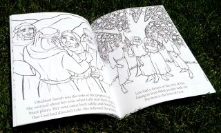 Scripture Princesses Coloring Book Sariah spread