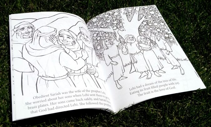 Scripture Princesses Coloring Book Sariah spread